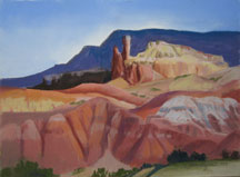 Ghost Ranch Hills and Chimney Rock